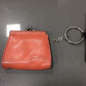 Wilson leather change purse
